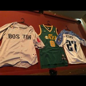 Sports Jerseys For Sale!